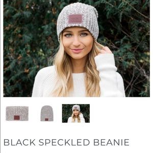 Love Your Melon Accessories - Love Your Melon Black Speckled Beanie 398d1519f1c